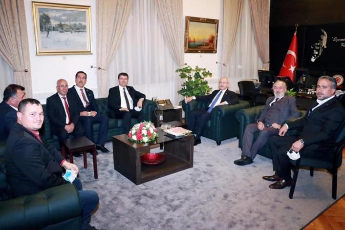 CHP Adıyaman teşkilatı Genel Başkan Kılıçdaroğlu ile bir araya geldi