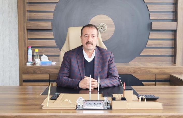 CHP Kahta İlçe Başkanlığına Mustafa Celayer atandı