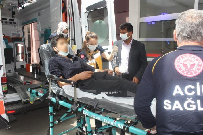 Adıyaman'da Elektrik akımına kapılan genç yaralandı