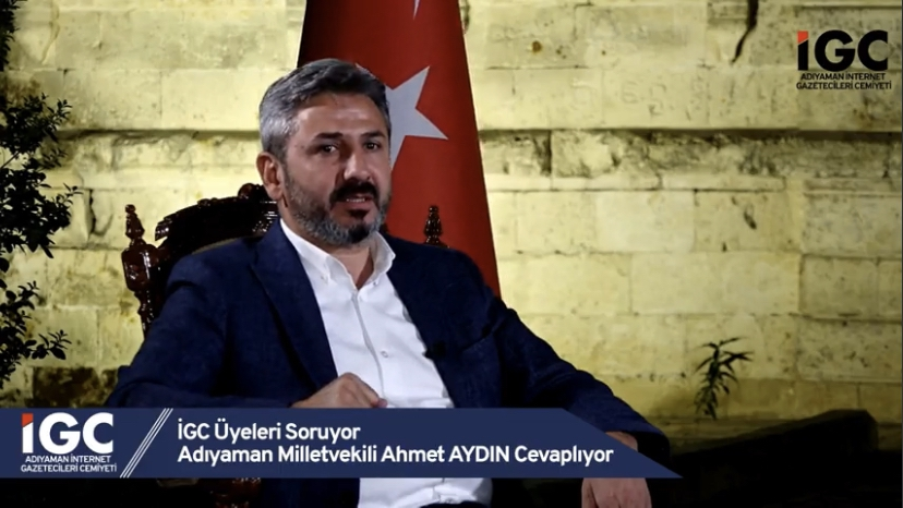 GMDK Başkanı Aydın'dan Adıyamanspor'a Müjde
