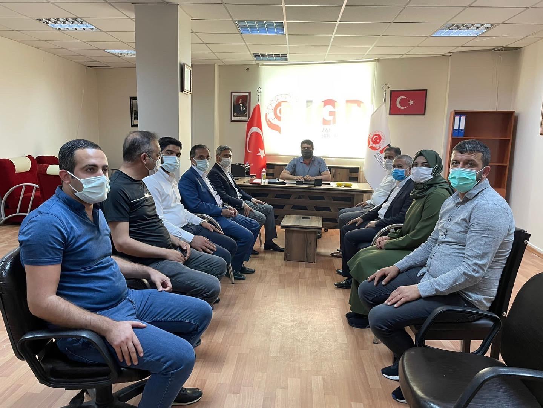GMDK Başkanı Aydın'dan İGC'ye ziyaret