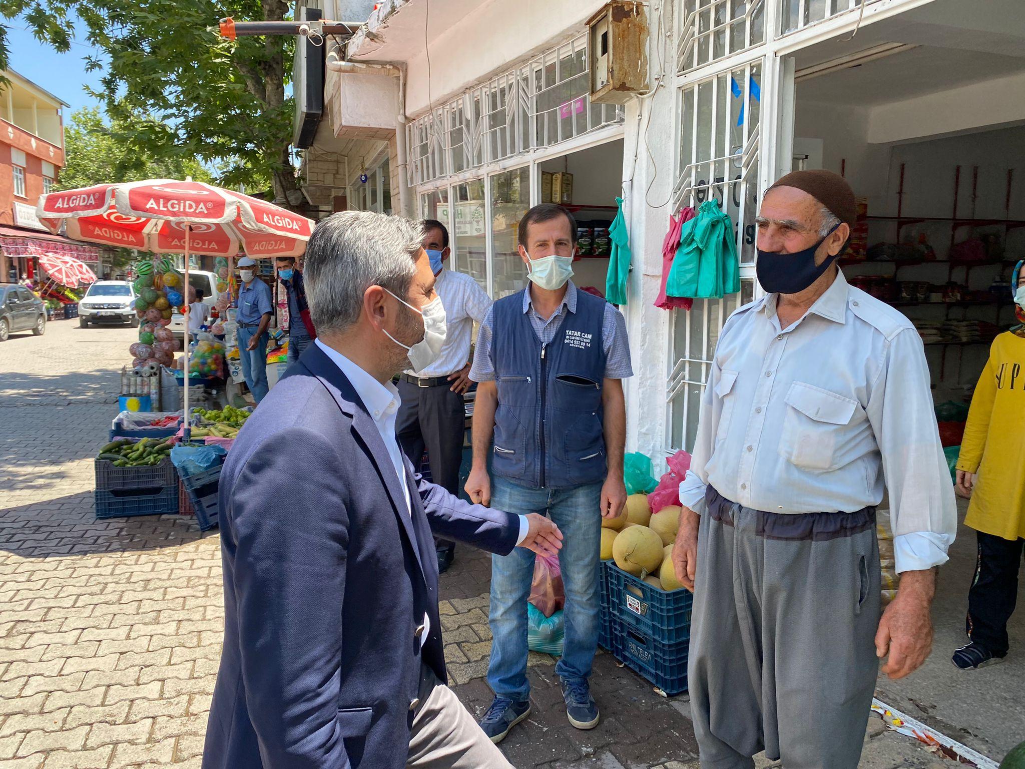 GMDK Başkanı Aydın Gerger Halkı ile Kucaklaştı