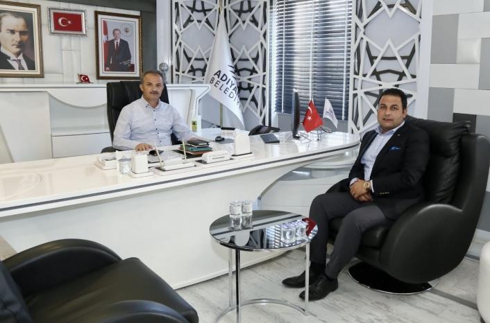 Gölbaşı Belediye Başkanı Yıldırım´dan Başkan Kılınç´a ziyaret