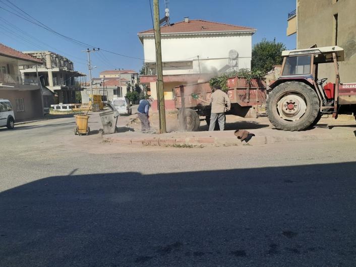 Gölbaşı Belediyesi ilçede temizlik seferberliği başlattı