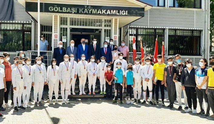 Gölbaşı´nda 19 Mayıs Gençlik ve Spor Bayramı kutlandı