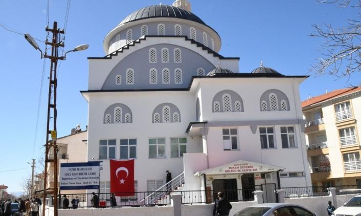 Gölbaşı´nda Hacı Gani Diler Cami ibadete açıldı