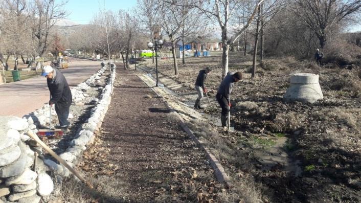 Gölbaşı´nda Tabiat parkı yenileniyor