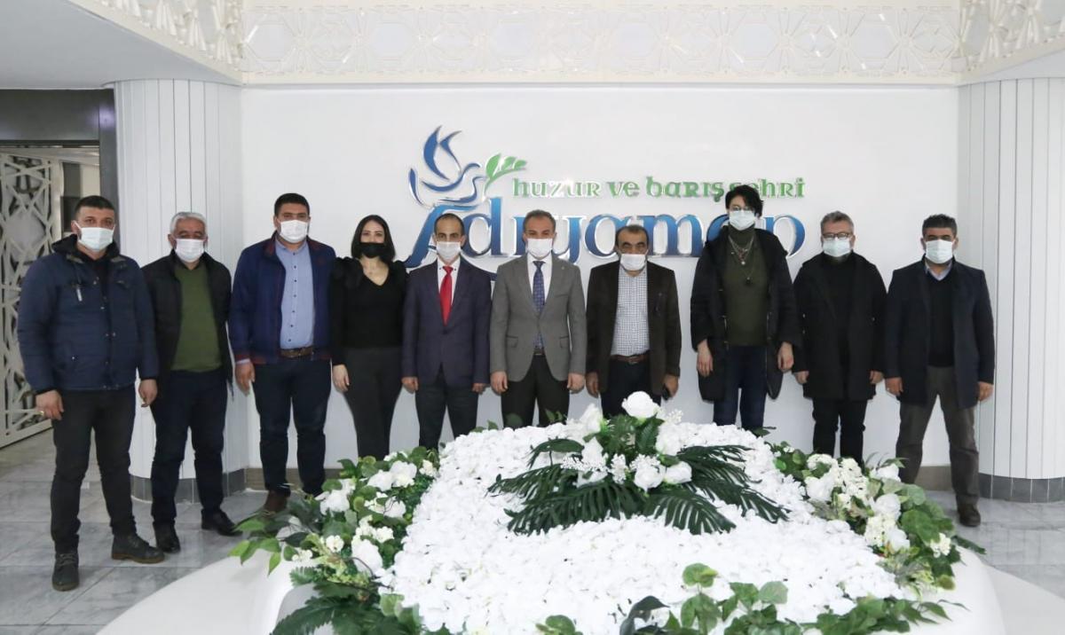 İnternet medyasından Vali Çuhadar'a ziyaret