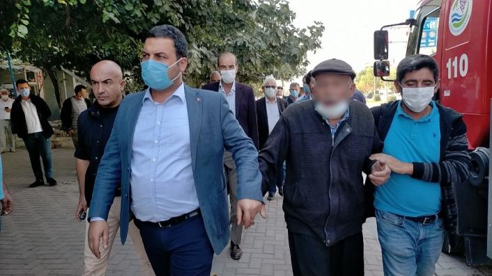 İntihar teşebbüsünde bulunan kişiyi belediye başkanı ikna etti