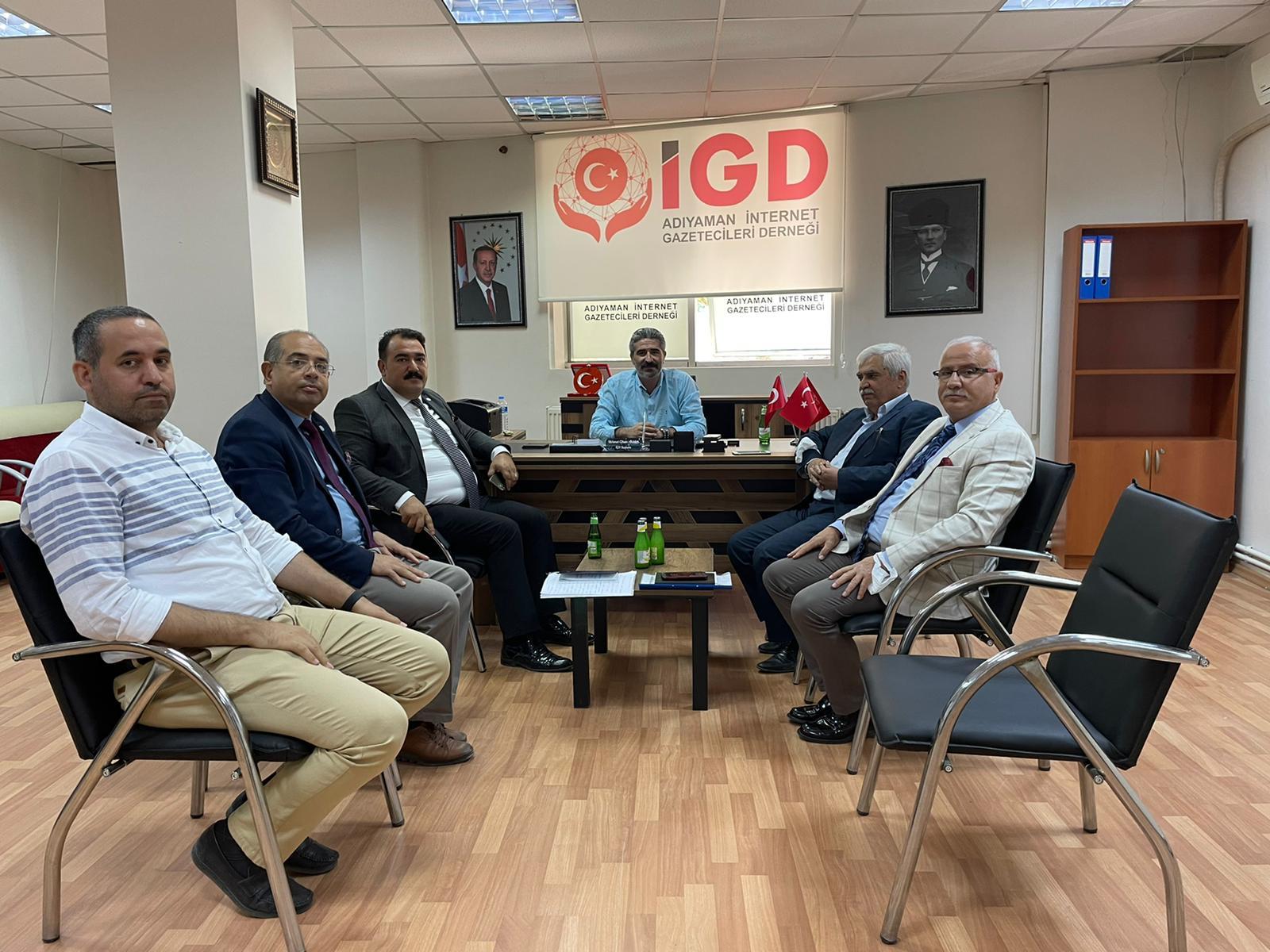 İYİ Parti Teşkilatından İGC'ye Ziyaret
