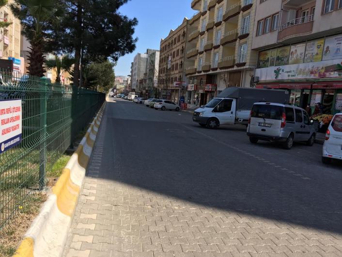 Kahta´da caddel ve sokaklar boş kaldı
