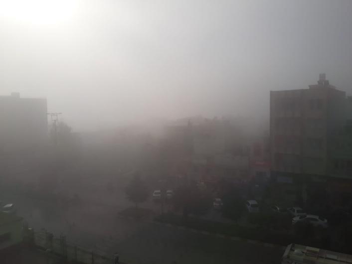 Kahta´da etkili olan sis yaşamı olumsuz etkiledi
