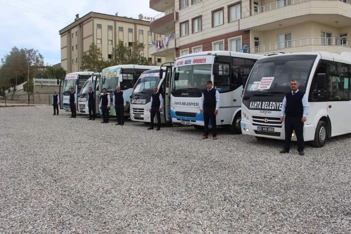 Kahta´da sınav günü toplu taşıma ücretsiz