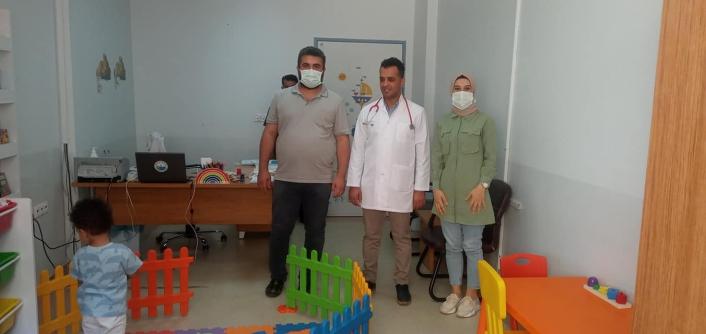 Kahta Devlet Hastanesinde Çocuk Gelişimi Polikliniği açıldı