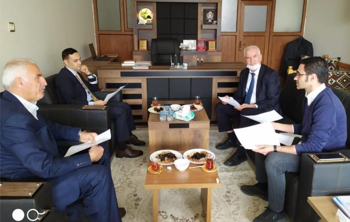 Kahta OSB Yönetim Kurulu toplantısı yapıldı