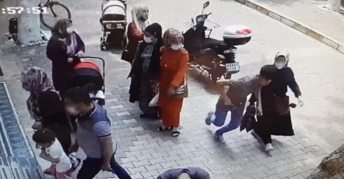 Adıyaman'da Kapkaççılar hamile kadının cüzdanını çaldı