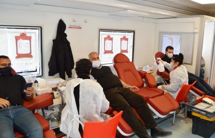 Kızılay´dan Besni´de kan bağışı kampanyası