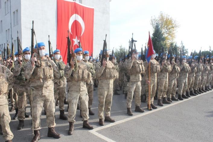 Adıyaman'da Komandolar barış için Suriye´ye uğurlandı