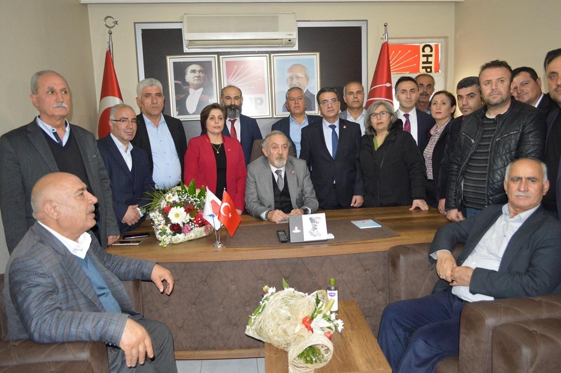 CHP Adıyaman İl Başkanı Binzet Mazbatasını Aldı