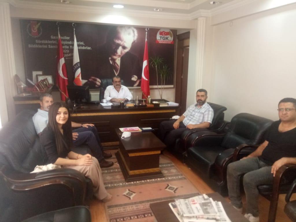 Gelecek Partisi'nden AGC'ye Ziyaret