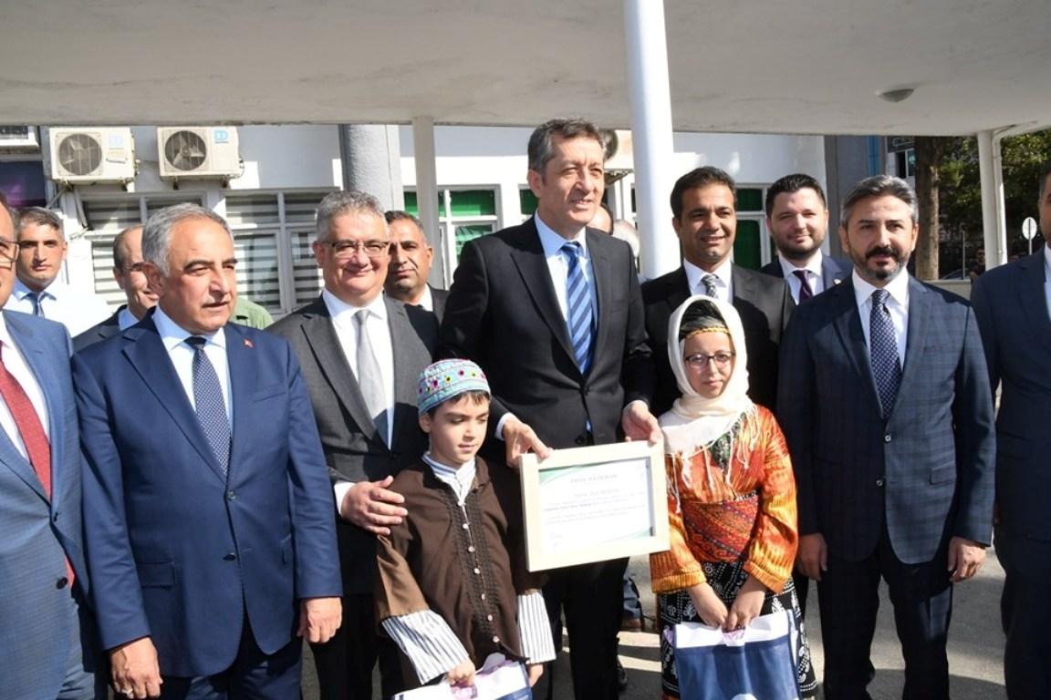Milli Eğitim Bakanı Ziya Selçuk Adıyaman'da