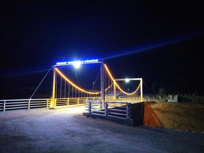 Mehmet Erdemoğlu Köprüsü hizmete açıldı