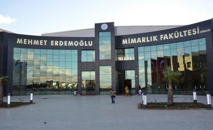 Mehmet Erdemoğlu Mimarlık Fakültesi `Turuncu Bayrak´ sahibi oldu