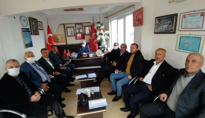 MHP´de başkanlar istişare toplantısı gerçekleştirildi