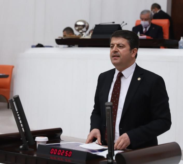 Milletvekili Tutdere Adıyaman trafiğini meclise taşıdı