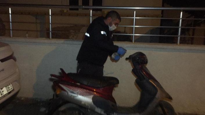 Adıyaman'da Motosiklet Hırsızı Suç Üstü Yakalandı