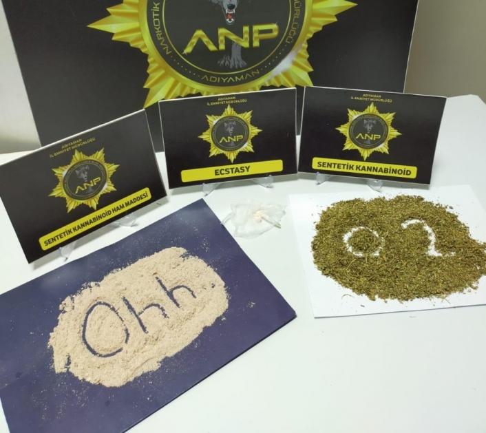 Adıyaman Narkotik polislerinden Ohh mesajı
