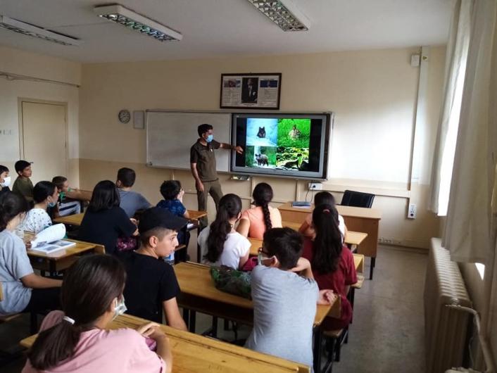 Öğrencilere biyolojik çeşitlilik anlatıldı