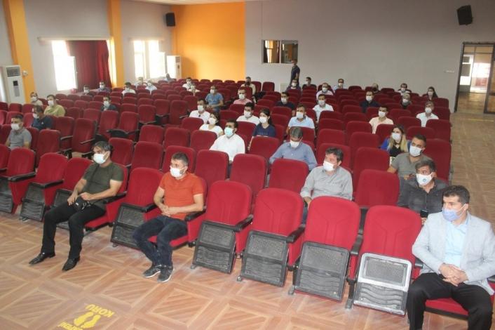 Okul müdürleri değerlendirme toplantısı düzenlendi