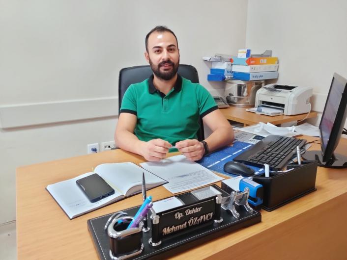 Op. Dr. Mehmet Özavcı Gölbaşı ilçesinde göreve başladı