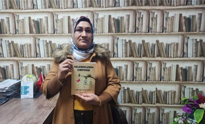 3 çocuk annesi gizli gizli tuttuğu notları kitaba dönüştürdü