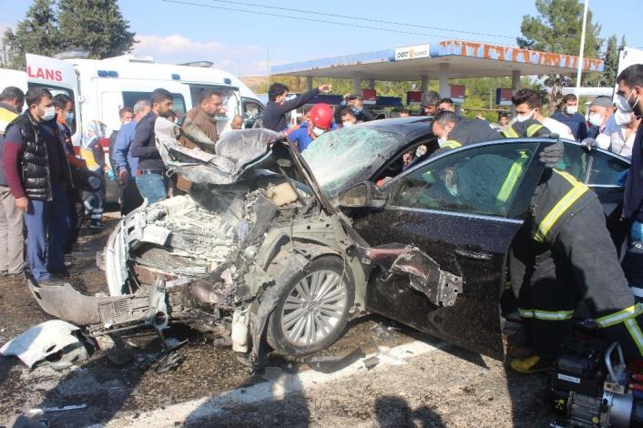 Adıyaman'da Feci Kaza: 1 Ölü 3 Yaralı
