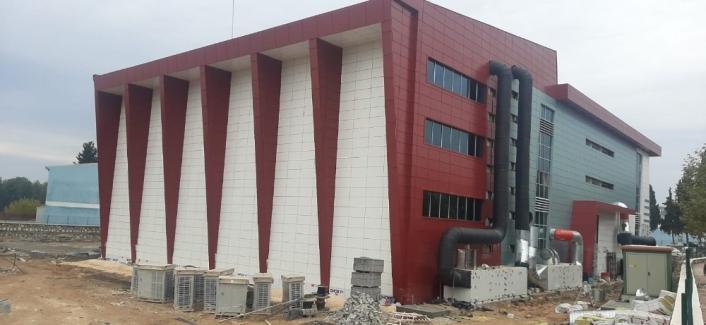 Sporcu Fabrikası inşaatında sona gelindi