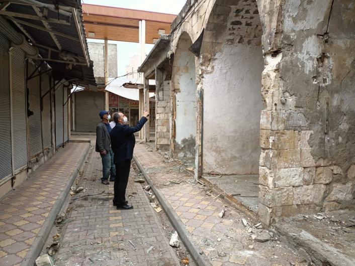 Tarihi çarşı restorasyonunda 2. etaba geçildi