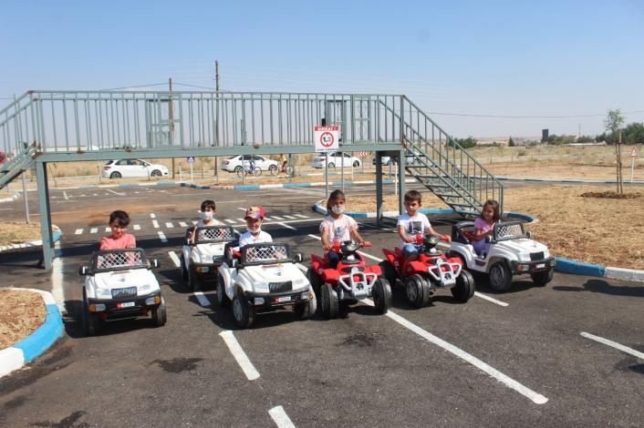 Trafik Eğitim Parkı yeniden çocukların hizmetinde