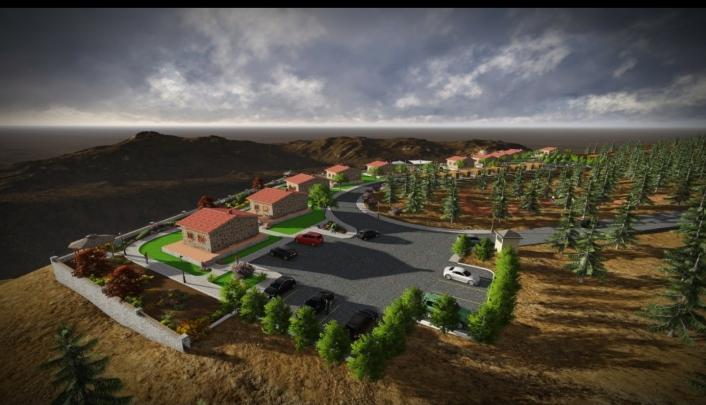 Tut taş evler turizme kazandırılıyor