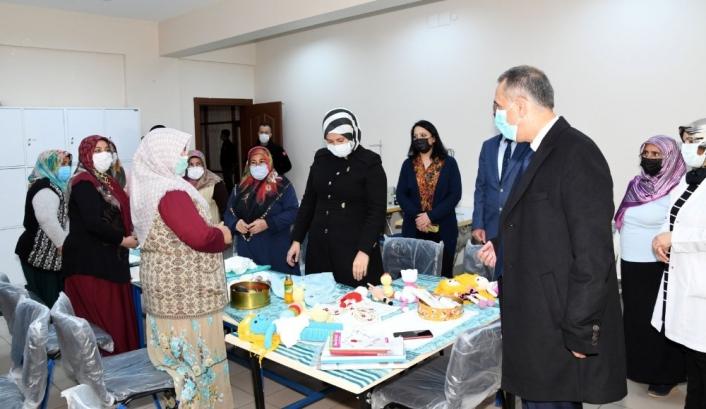 Vali Mahmut Çuhadar, ÇATOM´da incelemelerde bulundu