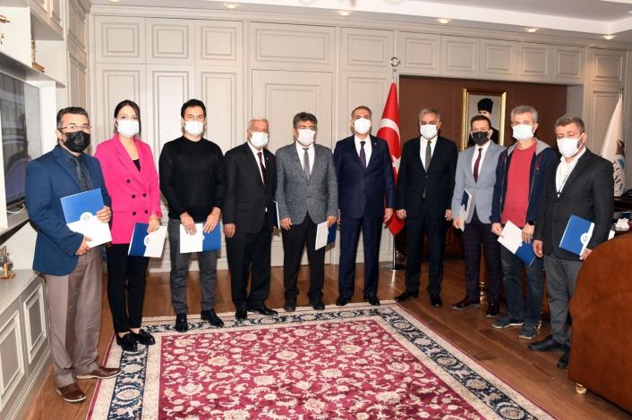 Vali Mahmut Çuhadar, TEKNOFEST şampiyonlarını ödüllendirdi