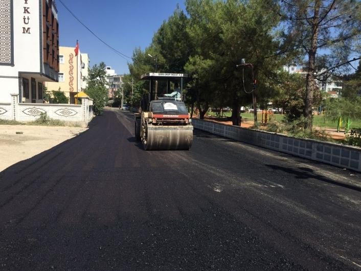 Yeni Mahalle sokakları asfaltlanıyor