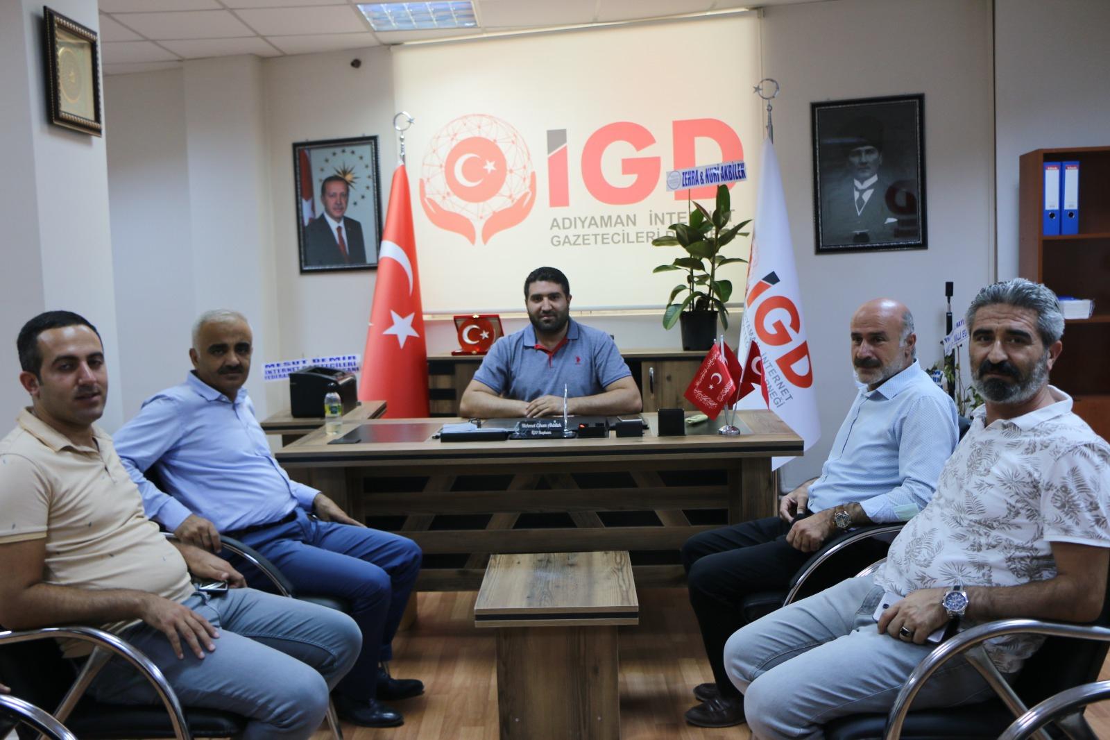 Ziya Polat'tan Adıyaman İGC'ye Ziyaret